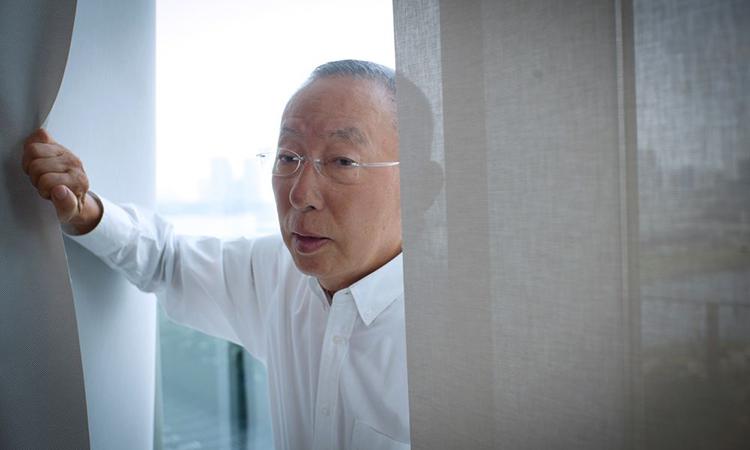 Ông Tadashi Yanai. Ảnh: Bloomberg