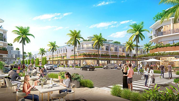 100% shophouse biển The Sound đều sở hữu haimặt tiền và có pháp lý sở hữu lâu dài.