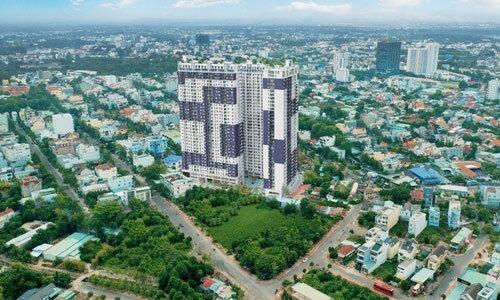 Phối cảnh một dự án thuộc công ty thành viên của Quốc Cường Gia Lai nằm trong diện thoái vốn.