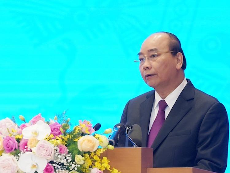 Thủ tướng phát biểu tại Hội nghị Chính phủ với địa phương, diễn ra trong hai ngày 30-31/12. Ảnh: VGP