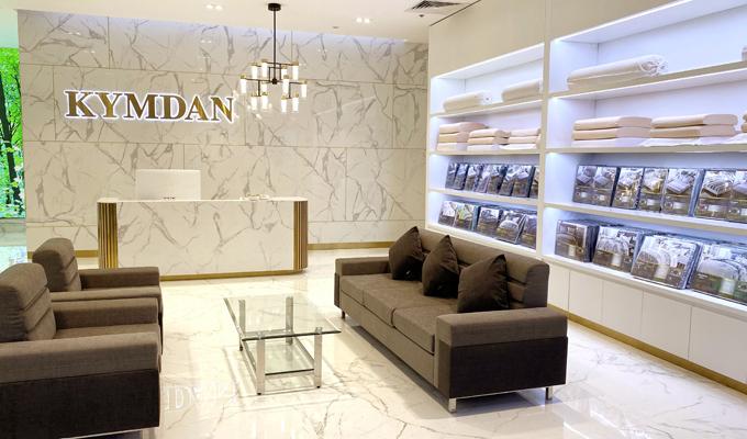 Kymdan hiện là thương hiệu nệm Việt Nam duy nhất có mặt tại Vincom Center Phạm Ngọc Thạch.