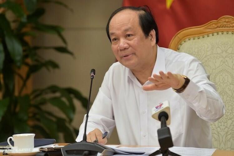 Ông Mai Tiến Dũng - Bộ trưởng, Chủ nhiệm Văn phòng Chính phủ. Ảnh: H.Thu