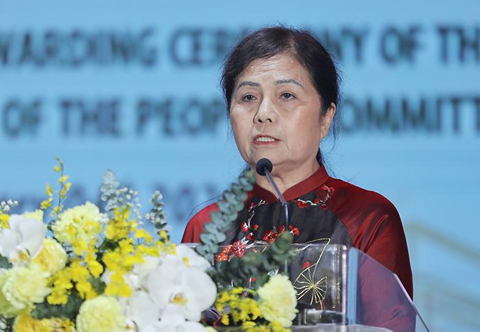 Bà Lê Thị Băng Tâm - Chủ tịch HĐQT HDBank.
