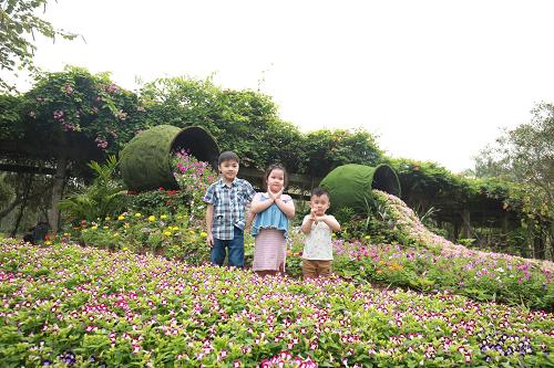 Trải nghiệm Tết xanh tại Thiên đường Bảo Sơn   Ngoài Vương quốc ánh sáng mang đậm không khí lễ hội, Fantasy Light Festival còn mang đến cho du khách trải nghiệm Tết xanh với vô vàn điểm chụp ảnh check-in, sống ảo có ngay bộ ảnh xuân rực rỡ.