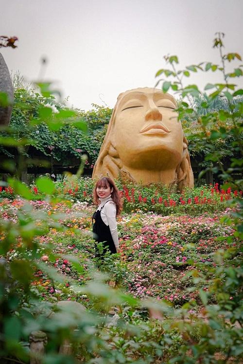 Khu vườn địa đàng xanh ngát đẹp như xứ sở thần tiên