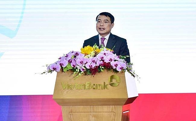 Thống đốc Lê Minh Hưng tại sự kiện. Ảnh: VietinBank