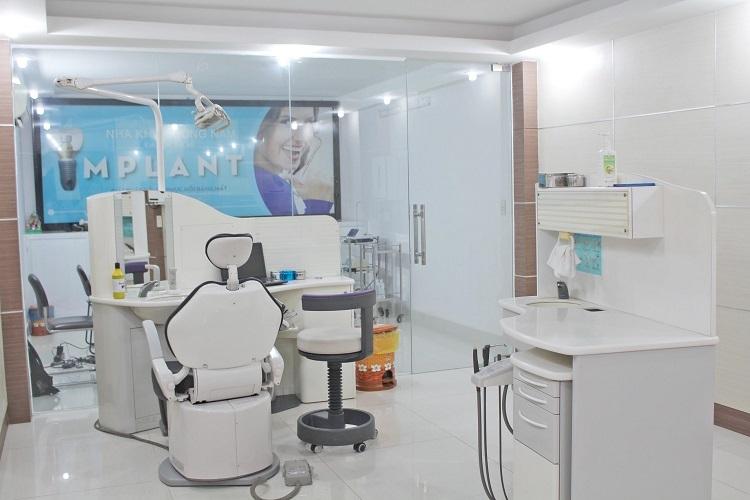 Một số trang thiết bị tại phòng khám.