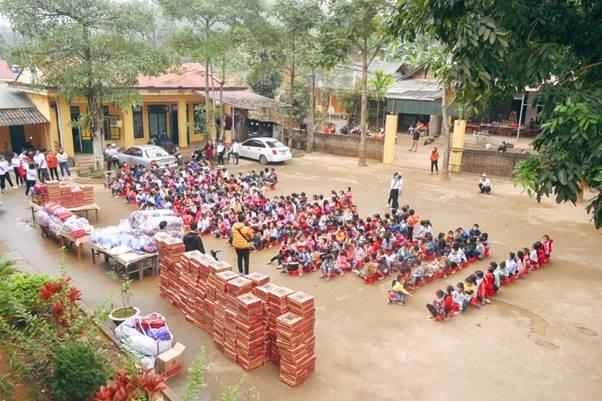 Trường Tiểu học Phúc Lợi (huyện Lục Yên, tỉnh Yên Bái).