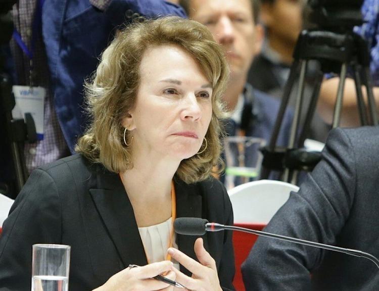 Bà Virginia Foote - Đồng Chủ tịch, liên minh VBF. Ảnh: VIR