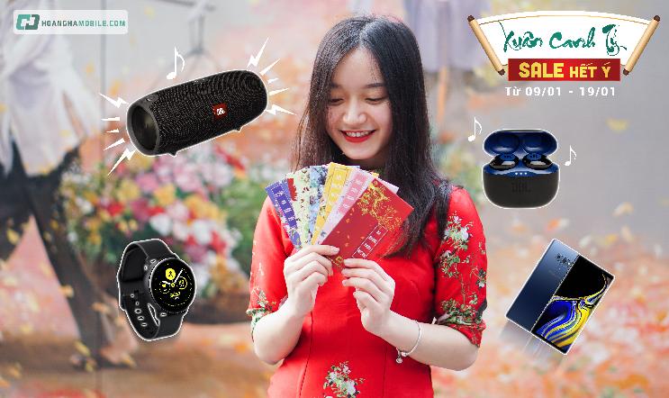 Hoàng Hà Mobile đang triển khai chương trình ưu đãi cho khách hàng.