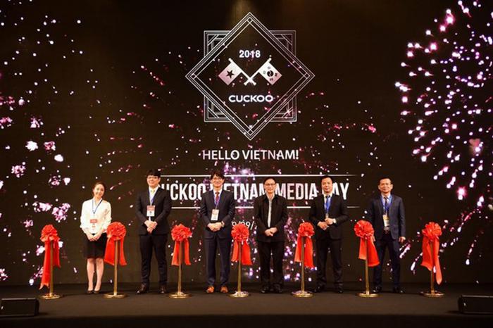 Cuckoo chính thức thành lập pháp nhân tại Việt Nam vào tháng 11 năm 2018 (thay hình kích cỡ 700).