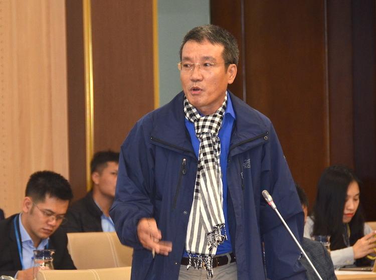 Ông Bùi Văn Thịnh - Chủ tịch Hiệp hội Điện gió Bình Thuận. Ảnh: H.Thu