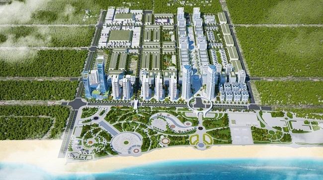 Khu đô thị biển Bình Sơn Ocean Park là một trong những dự án tiêu biểu của Hacom Holdings