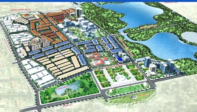 Phối cảnh Khu đô thị mới Đông Bắc (K1) và phân khu nhà ở xã hội Hacom Galacity.