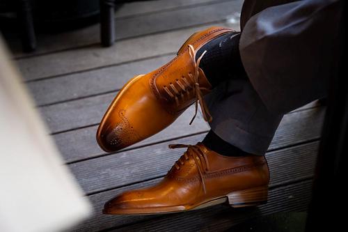 Mẫu giày Oxford cao cấp.