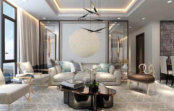 Căn hộ Sunshine City thiết kế hiện đại, phù hợp lối sống cao cấp.