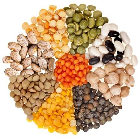 Một số loại đậu khô. Ảnh: TMT Food.