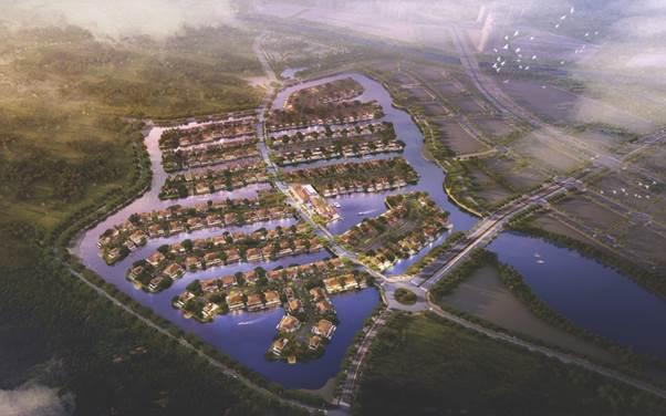 Biệt thự ven hồ, biệt thự đảo với không gian cây xanh, mặt nước là kênh đầu tư tiềm năng.