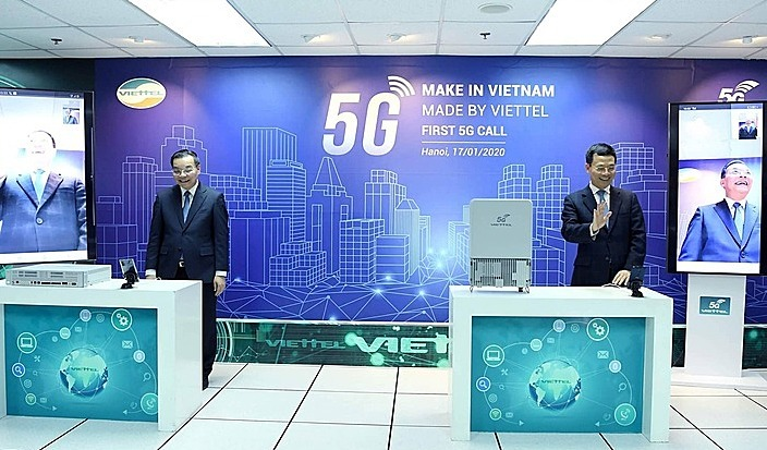"""Два министра тестировали 5G на оборудовании """"сделано во Вьетнаме"""""""