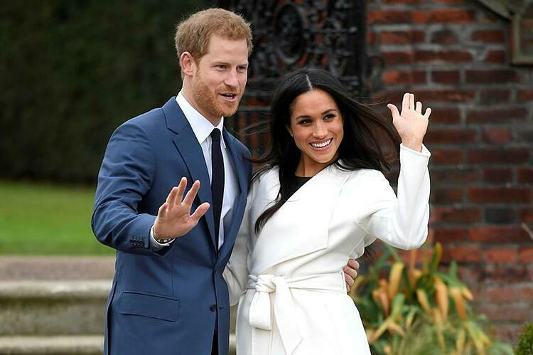 Vợ chồng Hoàng tử Harry và Công nương Meghan Markle. Ảnh: Reuters