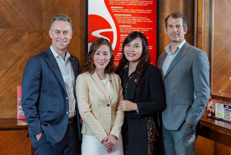 Bốn tổng giám đốc hiện tại của Mekong Capital.