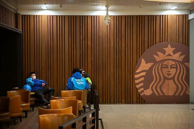 Một cửa hàng của Starbuckstại Trung Quốc. Ảnh: AP
