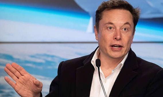 Nhà đồng sáng lập kiêm CEO Tesla Elon Musk. Ảnh: AFP