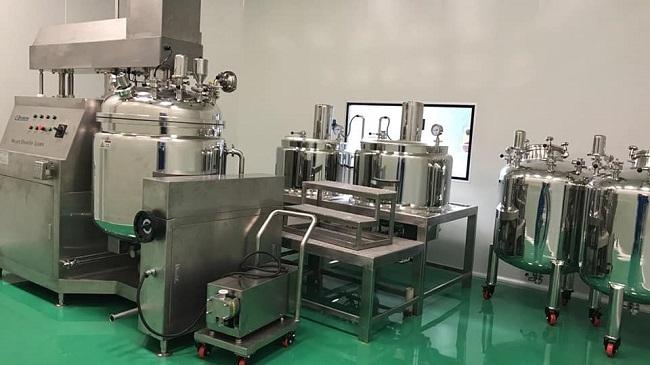 Thiết bị sản xuất nước rửa tay khô DryAnti-V của CVI.