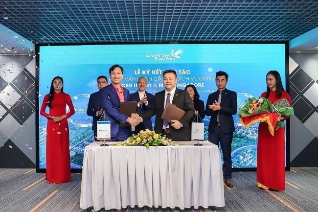 Đại diện CenInvest và tập đoàn Manhatton Hotel Group Singapore chính thức ký kết hợp tác