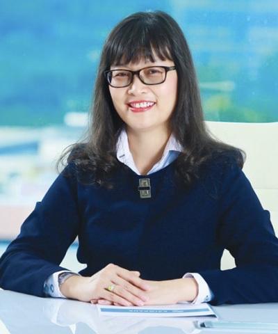 Bà Đinh Thị Thu Thảo – Phó Tổng Giám đốc Eximbank công tác tại nhà băng từ năm 1991 đến nay.