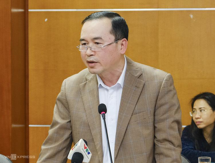 Ông Phan Văn Chinh - Cục trưởng Cục Xuất nhập khẩu (Bộ Công Thương). Ảnh: A.Minh