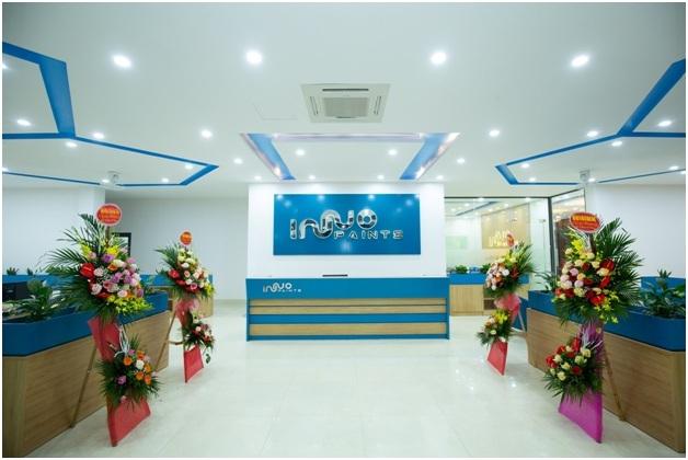 Hệ thống Văn phòng và Trung tâm dịch vụ Inno Paints đảm bảo dịch vụ trên khắp cả nước.