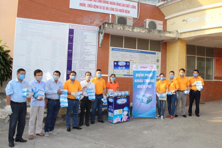 Chương trình tặng khẩu trang do Tập đoàn Aikya triển khai trên quy mô toàn quốc, nhằm hưởng ứng chiến dịch 10 triệu khẩu trang phòng chống dịch viêm đường hô hấp cấp do chủng mới của virus corona (nCov) gây ra.