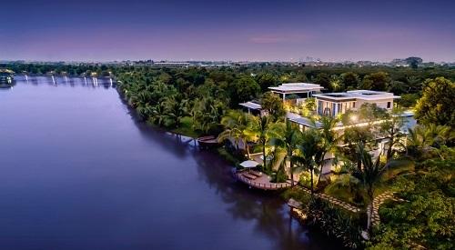 Biệt thự đảo Ecopark Grand - The Island hiện là dòng sản phẩm cao cấp nhất tại Ecopark.