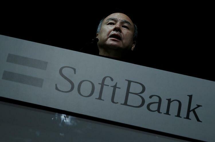 Nhà sáng lập SoftBank Masayoshi Son. Ảnh: Reuters