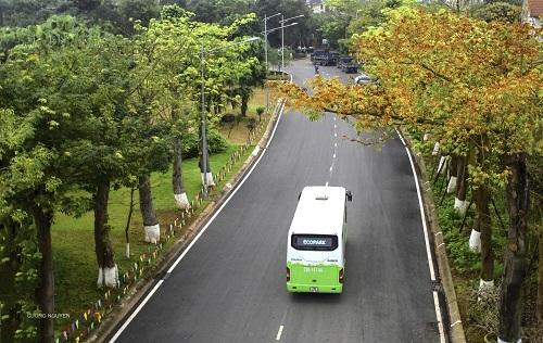 Ecobuskết nối từ giao thông thuận tiện từ Ecopark tới nhiều khu vực khác nhau trong nội thành Hà Nội.