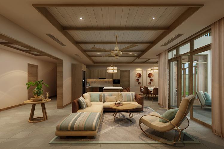 Thiết kế nội thất mang phong cách sang trọng, trang nhã,.