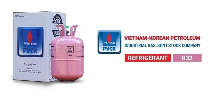 Sản phẩm khí gas lạnh của PVCK.