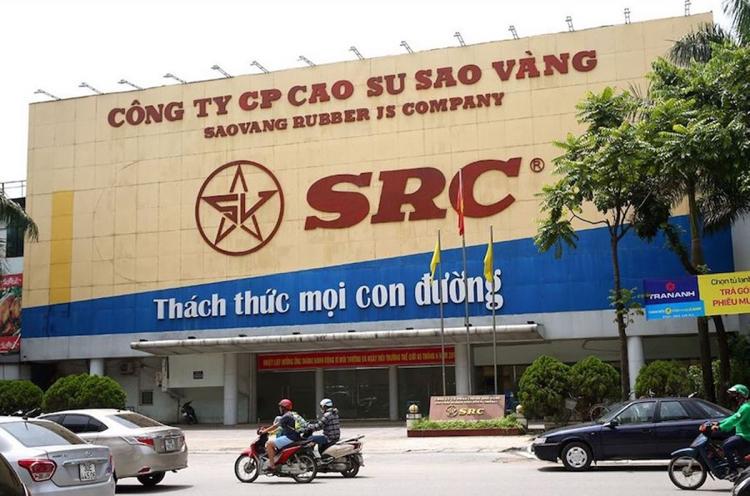 Trụ sở của Công ty CP Cao su Sao Vàng