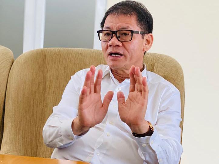 Ông Trần Bá Dương - Chủ tịch Công ty cổ phần Ôtô Trường Hải (Thaco). Ảnh: Hoài Thu