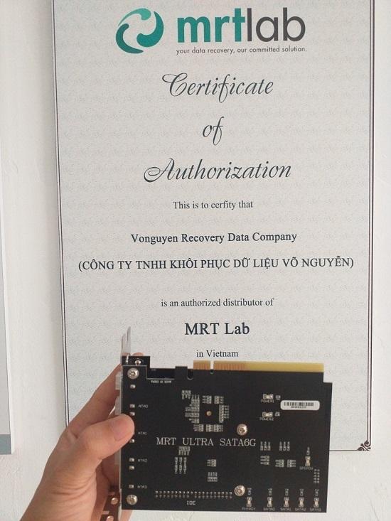 Dòng máy cứu dữ liệu MRT Ultra tiêu chuẩn SATA 3.0