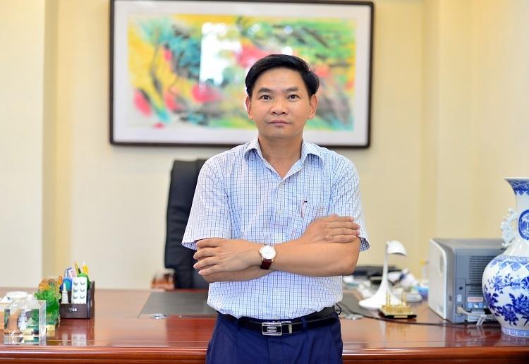 Ông Lê Xuân Thắng - Tổng Giám đốc Dược Hà Tây.