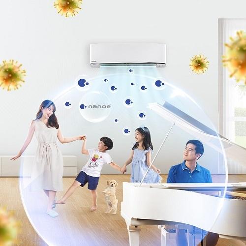 Công nghệ nanoe có thể được kích hoạt từ xa, giúp căn nhà để tự bảo vệ sức khỏe của mìnhluôn sạch sẽ và thoải mái cho bạn và người thân khi trở về.
