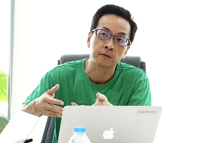 Ông Chris Yeo, Giám đốc Grab Ventures trong buổi chia sẻ chiều 27/2. Ảnh: Viễn Thông