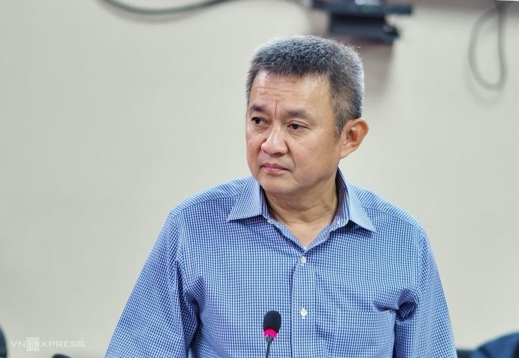 Ông Dương Trí Thành, Tổng giám đốc Vietnam Airlines, tại hội nghị của Ủy ban quản lý vốn ngày 28/2. Ảnh: Minh Sơn