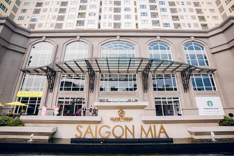 Trung tâm thuonge mại SaigonMia tại khu dân cư Trung Sơn, TP HCM.