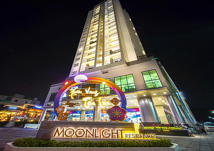 Hình ảnh trung tâm thương mại thuộc dự án Moonlight Residences, quận Thủ Đức, TP HCM