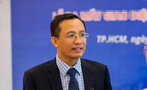 TS Bùi Quang Tín - Đại học Ngân hàng TP HCM. Ảnh: NVCC