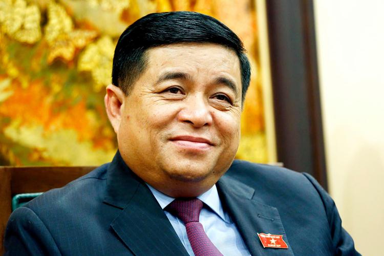 Bộ trưởng Kế hoạch & Đầu tư Nguyễn Chí Dũng. Ảnh: MPI.