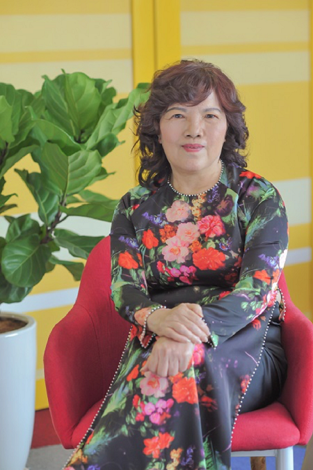 Bà Nguyễn Thanh Hà - Chủ tịch HĐQT Vietjet.